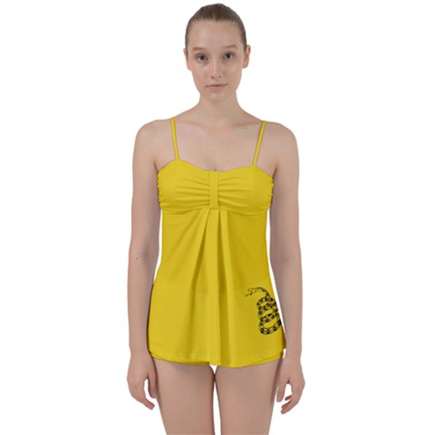Gadsden Flag Don t Tread On Me Babydoll Tankini Set