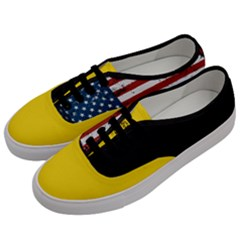 Gadsden Flag Don t Tread On Me Men s Classic Low Top Sneakers by snek