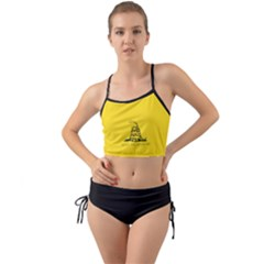 Gadsden Flag Don t Tread On Me Mini Tank Bikini Set by snek