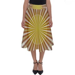 Abstract Art Art Modern Abstract Perfect Length Midi Skirt