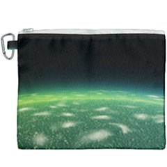 Alien Orbit Canvas Cosmetic Bag (xxxl) by Sapixe