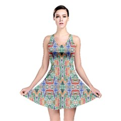 Colorful 23 Reversible Skater Dress by ArtworkByPatrick