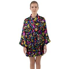 Artwork By Patrick Colorful 24 Long Sleeve Kimono Robe by ArtworkByPatrick