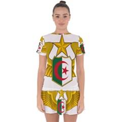 Badge Of The Algerian Air Force  Drop Hem Mini Chiffon Dress by abbeyz71