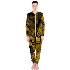 Colorful The Beautiful Of Traditional Art Indonesian Batik Pattern Onepiece Jumpsuit (ladies)  by Sapixe