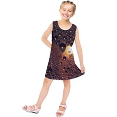 Condensation Abstract Kids  Tunic Dress by Sapixe