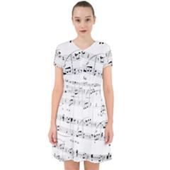 Abuse Background Monochrome My Bits Adorable In Chiffon Dress by Nexatart