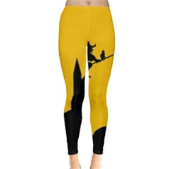 Castle Cat Evil Female Fictional Leggings