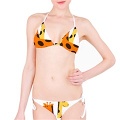 Giraffe Africa Safari Wildlife Bikini Set
