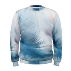 Feather Ease Slightly Blue Airy Men s Sweatshirt