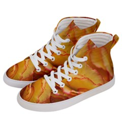 Flowers Leaves Leaf Floral Summer Men s Hi Top Skate Sneakers by Nexatart