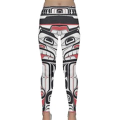 Ethnic Traditional Art Classic Yoga Leggings by Sapixe