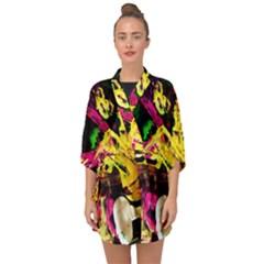 Spooky Attick 1 Half Sleeve Chiffon Kimono by bestdesignintheworld