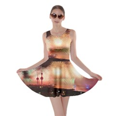 Kuwait Liberation Day National Day Fireworks Skater Dress