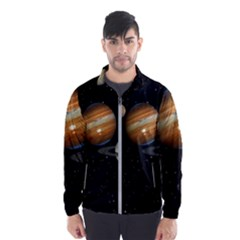 Outer Space Planets Solar System Wind Breaker (men) by Sapixe
