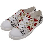 Love Love and Hearts Women s Low Top Canvas Sneakers
