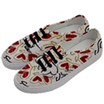 Love Love and Hearts Men s Classic Low Top Sneakers
