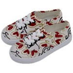 Love Love and Hearts Kids  Classic Low Top Sneakers