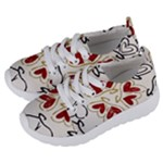 Love Love and Hearts Kids  Lightweight Sports Shoes