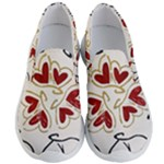 Love Love and Hearts Men s Lightweight Slip Ons