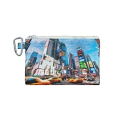 New York City Canvas Cosmetic Bag (small)