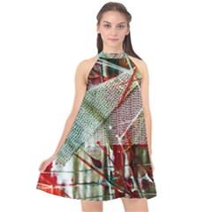 Hidden Strings Of Urity 10 Halter Neckline Chiffon Dress  by bestdesignintheworld