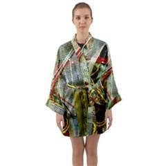 Hidden Strings Of Purity 15 Long Sleeve Kimono Robe by bestdesignintheworld