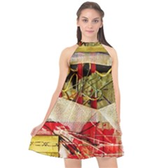 Hidden Strings Of Purity 4 Halter Neckline Chiffon Dress  by bestdesignintheworld
