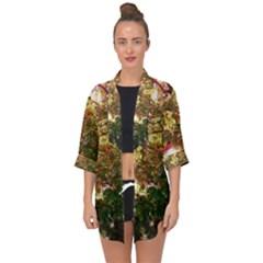 Highland Park 18 Open Front Chiffon Kimono
