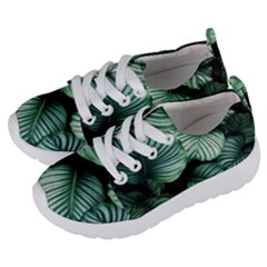 Tropical Florals Kids  Lightweight Sports Shoes by goljakoff
