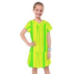 Shading Pattern Symphony Kids  Drop Waist Dress by Sapixe