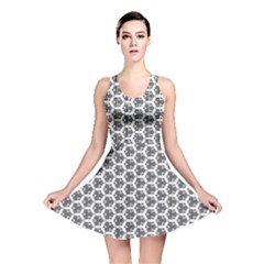 Abstract Shapes Reversible Skater Dress