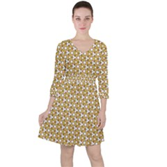 Abstract Shapes 2 Ruffle Dress by jumpercat