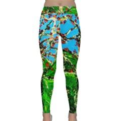 Coral Tree 2 Classic Yoga Leggings by bestdesignintheworld