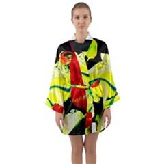 Drama 1 Long Sleeve Kimono Robe by bestdesignintheworld