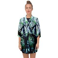 Highland Park 11 Half Sleeve Chiffon Kimono by bestdesignintheworld