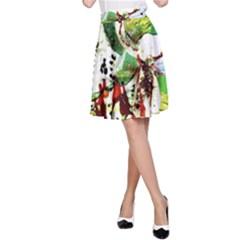Doves Matchmaking 12 A-line Skirt by bestdesignintheworld