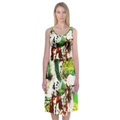 Doves Matchmaking 12 Midi Sleeveless Dress by bestdesignintheworld