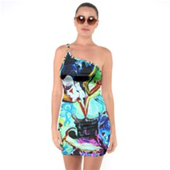 Woman Spirit One Soulder Bodycon Dress by bestdesignintheworld