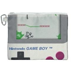 Game Boy White Canvas Cosmetic Bag (xxl) by Samandel