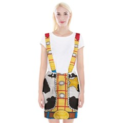 Woody Toy Story Braces Suspender Skirt