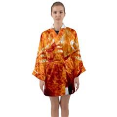 Spectacular Solar Prominence Long Sleeve Kimono Robe by Sapixe