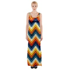 The Amazing Pattern Library Maxi Thigh Split Dress