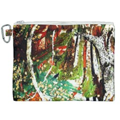 April   Birds Of Paradise Canvas Cosmetic Bag (xxl) by bestdesignintheworld