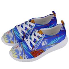 Ceramic Jur And Sunlowers Women s Lightweight Sports Shoes by bestdesignintheworld