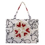 Love Love hearts Medium Tote Bag