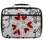 Love Love hearts Full Print Lunch Bag