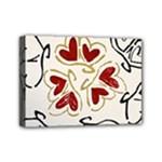 Love Love Hearts Mini Canvas 7  x 5