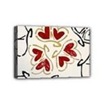 Love Love Hearts Mini Canvas 6  x 4
