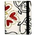 Love Love Hearts Samsung Galaxy Tab 7  P1000 Flip Case View2